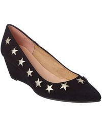 French Sole - Tally Ho Suede Wedge - Lyst