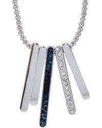 T Tahari - Crystal Necklace - Lyst