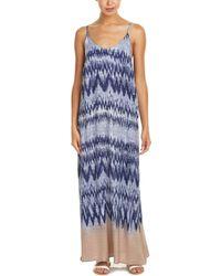 Mystree - Chevron Maxi Dress - Lyst