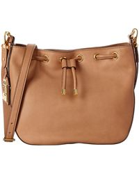 Pink Pony - Lauren By Huttington Leather Shoulder Bag - Lyst