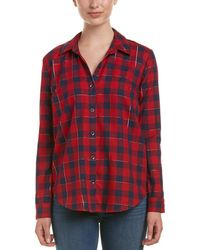 Splendid - Plaid Shirt - Lyst