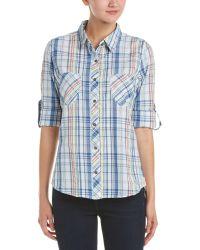 Gramicci - Zuma Plaid Convertible Shirt - Lyst