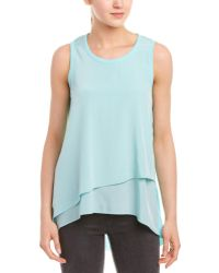 Lola & Sophie - Lola And Sophie Asymmetrical Top - Lyst