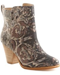 Ella Moss - 'victoria' Tapestry Ankle Boot - Lyst