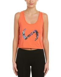 Tlf | Apparel Infinity Twisted Crop Top | Lyst