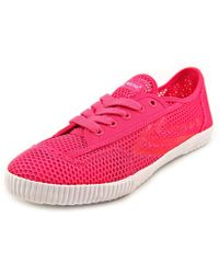 Feiyue - Fe Lo Mesh Women Round Toe Synthetic Pink Trainers - Lyst