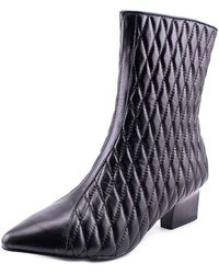 Adrianna Papell - Marci Women Pointed Toe Leather Mid Calf Boot - Lyst