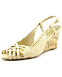 Chaps - Ranna Women Open Toe Synthetic Wedge Heel - Lyst