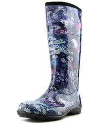Kamik - Eden Women Round Toe Synthetic Blue Rain Boot - Lyst