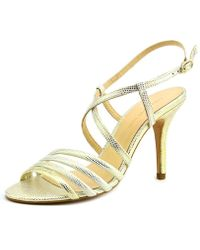Carmen Marc Valvo - Gracie Women Open Toe Leather Sandals - Lyst