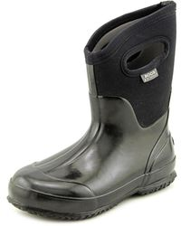 Bogs - Classic Mid Handles Women Round Toe Synthetic Rain Boot - Lyst