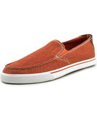 Dockers - Turlock Men Round Toe Canvas Orange Loafer - Lyst
