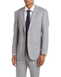 Palm Beach - Wool Suit With Flat Front Pant - Lyst