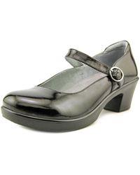 Alegria - Harper Women Round Toe Leather Black Clogs - Lyst
