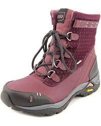 Ahnu - Twain Harte Round Toe Leather Winter Boot - Lyst