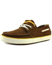 Tretorn - Otto Moc Toe Suede Boat Shoe - Lyst