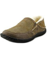 Acorn - Rambler Round Toe Suede Mules - Lyst