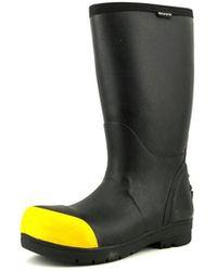 Bogs - Food Pro Steel Men Steel Toe Synthetic Black Work Boot - Lyst