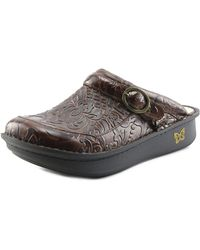 Alegria - Seville Round Toe Synthetic Clogs - Lyst