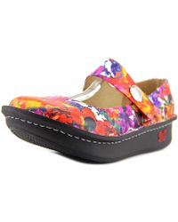 Alegria - Paloma Women Round Toe Leather Multi Colour Mary Janes - Lyst