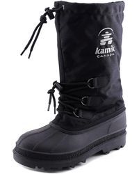 Kamik - Canuck Round Toe Canvas Snow Boot - Lyst