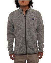Patagonia men's better sweater jacket stonewash