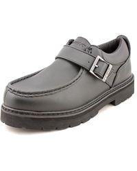 Lugz - Garvin Men Round Toe Synthetic Black Work Shoe - Lyst