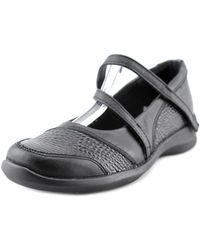 Aetrex - Lizzie Women N/s Round Toe Synthetic Black Mary Janes - Lyst