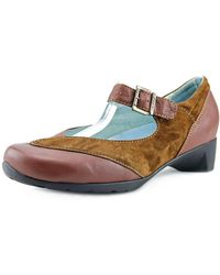 Wolky - Argentina Round Toe Leather Mary Janes - Lyst