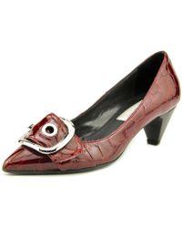 Giancarlo Paoli - N6i52 Pointed Toe Leather Heels - Lyst