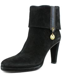 Dirk Bikkembergs - Sally Round Toe Suede Ankle Boot - Lyst