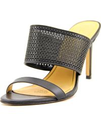 Enzo Angiolini - Arianne Open Toe Synthetic Sandals - Lyst