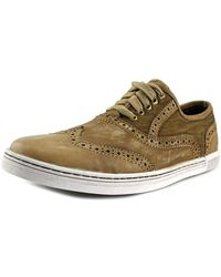 Bed Stu - Bauer Round Toe Leather Oxford - Lyst
