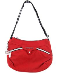 Hedgren - Wapping Women Canvas Red Messenger - Lyst