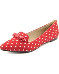 Restricted - Next Day Women Pointed Toe Canvas Loafer - Lyst