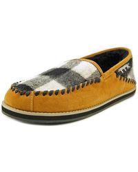 Woolrich - Austin Potter Slide Men Round Toe Canvas Brown Slipper - Lyst