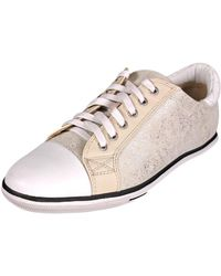 Elie Tahari - Dream Round Toe Suede Trainers - Lyst