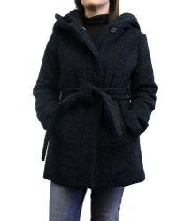CoffeeShop - Women's Shawl Collar Wrap Coat - Lyst