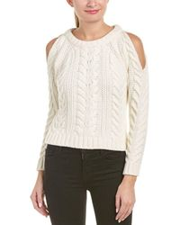 5589380e4eceae Anine Bing - Anine Bing Cold-shoulder Wool-blend Sweater - Lyst