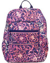 Vera Bradley - Campus Backpack - Lyst
