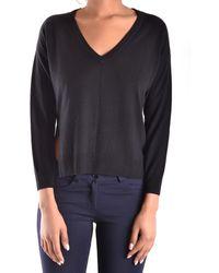 Pinko - Women's Black Viscose Sweater - Lyst