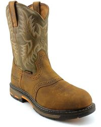 Ariat - Workhog Pull-on 2e Composite Toe Leather Western Boot - Lyst