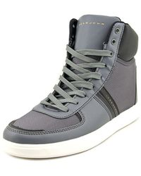 Sean John - Nes Round Toe Synthetic Sneakers - Lyst