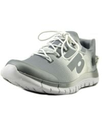 Reebok - Zpump Fusion Round Toe Synthetic Running Shoe - Lyst