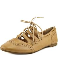 Restricted - Sammy Round Toe Leather Oxford - Lyst