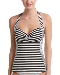 Jets by Jessika Allen - Striped Tankini Top - Lyst