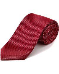 English Laundry - Red Mini Neat Silk Tie - Lyst