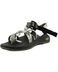 Chaco - Zcloud X2 Women Open-toe Canvas Grey Sport Sandal - Lyst