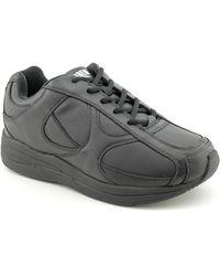 Drew - Surge Men N Round Toe Leather Black Trainers - Lyst