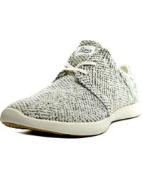G.H.BASS - Gh Bass & Co Shelby Women Round Toe Canvas Grey Trainers - Lyst